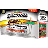 Spectracide 95852 Terminate Termite Detection Killing Stakes, 15 Count (Discontinued by Manufacturer)