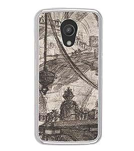 ifasho Designer Phone Back Case Cover Motorola Moto G2 :: Motorola Moto G (2nd Gen) ( American Flag Statue of Liberty )