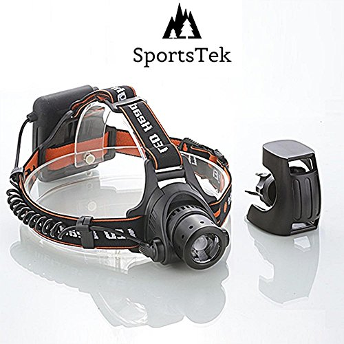 LED Headlamp | SportsTek Lightwear 4-in-1 | Multi-Function