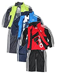 Adidas Boys 3-piece Athletic Windsuit