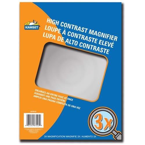 """Kamset Magnifier Sheet 8.5"""" x 11"""" - 1"""