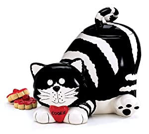 Chester The Cat Kitty Cookie Jar Food Container by Animewild