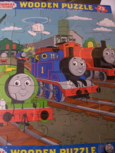 Thomas & Friends Wooden Puzzle ~ 25 Pieces (Thomas, James & Percy) - 1