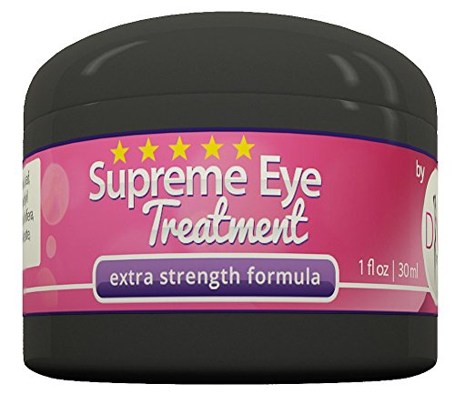 Supreme Eye Treatment Cream by DIVA Fit & Sexy - All-Natural Formula Made with Organic Aloe Gel to Remove Dark Circles, Reduce Puffiness, Ease Under Eye Bags, Repair Premature Aging Signs, Wrinkles, Crow's Feet and Improve Facial Lines - 100% Satisfaction Guaranteed! (Sleep Satisfaction Llc Sign compare prices)