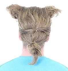 Space Balls Barf Half Man Half Dog Costume Wig