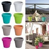 Blumentopf Übertopf - Für den Innen und Außenbereich - verschiedene
