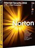 Norton Internet Security 2010 1 User PC CD import anglais