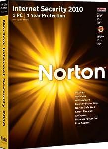 Norton Internet Security 2010 - 1 User (PC CD)