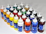 24 x Acrylfarbe je 500 ml