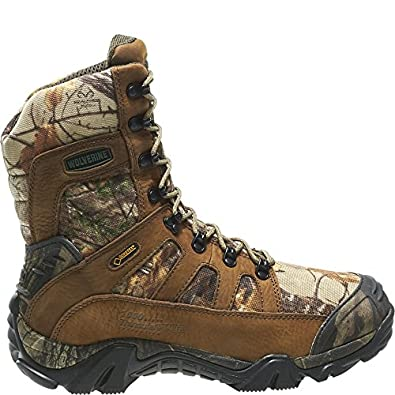 Wolverine Men's Ridgeline Xtreme Hunting Leather Boot Realtree Xtra 09.5 / M