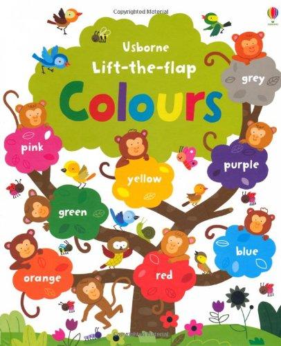 Lift the flap colours (Usborne Lift-the-Flap-Books)