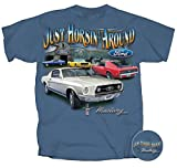 Ford Mustang T-shirt Just Horsin Around Car Tee-xxl