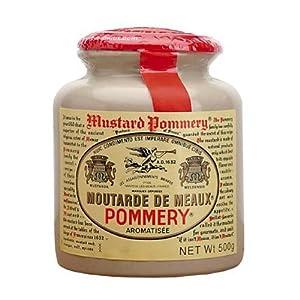 Pommery Moutarde De Meaux Mustard in Stone Jar - 500 Gram