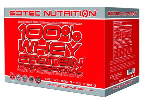 Scitec Nutrition 100% Whey Protein Professional 30 x 30 g mix Spezialangebot von Top-energy24