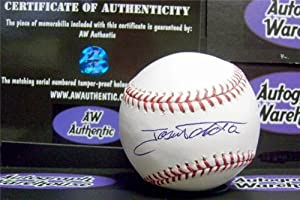 Buy Jose Tabata Autographed Hand Signed Baseball by Hall of Fame Memorabilia
