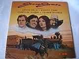 Levon Helm-Johnny Cash-Emmylou Harris-Charlie Daniels THE LEGEND OF JESSE JAMES 1980