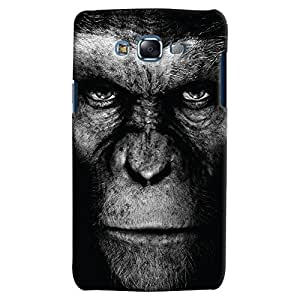 ColourCrust Samsung Galaxy J7 Mobile Phone Back Cover With Gorilla - Durable Matte Finish Hard Plastic Slim Case