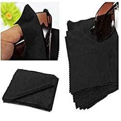 10pcs 15X15cm Eyeglasses Reading Glasses Cleaning Cloth Camera Phone Screen Cleaner by Abcstore99