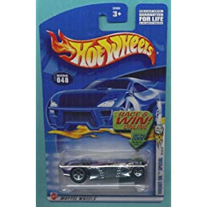 Hot Wheels 2002-048 Purple/Silver Rocket Oil Special 36/42 1:64 Scale Die Cast Car