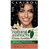 Clairol  Natural Instincts Crema Keratina Hair Color Kit, Blue Black 2BB Blueberry Creme