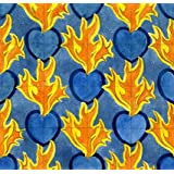 Flaming Heart Wallpaper, by C.F.A. Voysey (V&A Custom Print)