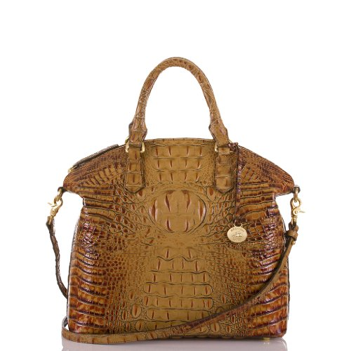 Large Duxbury Satchel<br>Toasted Almond Melbourne