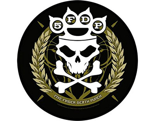5FDP - Five Finger Death Punch -Knuckle - Grande Toppa/Patch Circolare