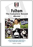 Dennis Turner Fulham The Complete Record