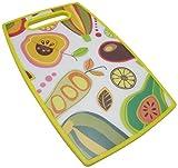 P!ZAZZ 106-002Y Cutting Board with Decorative Yellow Border
