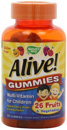 Natur'S Way - Alive! Children'S Multi-Vitamin Gummies - 90 Chew
