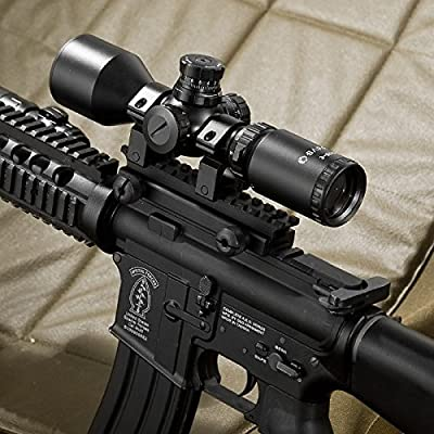 BARSKA 3-9x42 Contour Riflescope IR Mil-Dot Riflescope by Barska