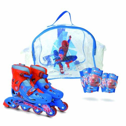 darpeje-the-amazing-spiderman-ospi018-velo-et-vehicule-pour-enfant-sac-avec-rollers-en-ligne-t1-set-