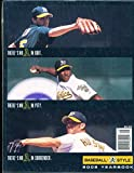 2002 Oakland Athletics Baseball Yearbook nm bxb1