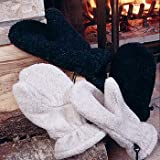 35° Below Berber Fur Mittens - Black