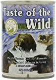 Taste of the Wild Canned Dog Food for All Lifestages, Pacific Stream Canine with Smoked Salmon Formula (Pack of 12, 13.2 Ounce Cans)