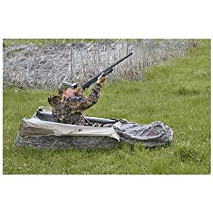 Buy Guide Gear Deluxe Waterfowl Blind Mossy Oak Blades by Guide Gear