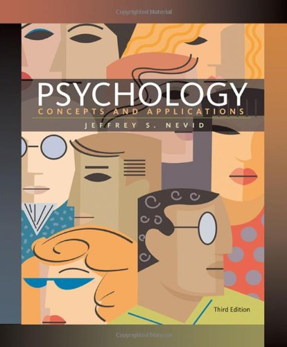 Psychology: Concepts And Applications front-958508