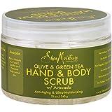 Shea Moisture ORGANIC Olive & Green Tea Body Scrub 12oz