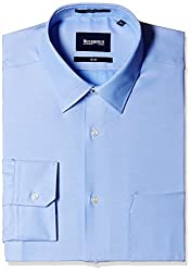 Blackberrys Men's Formal Shirt (8907196530477_MSDOC11CBEN06BPQ_42_Cadet Blue)