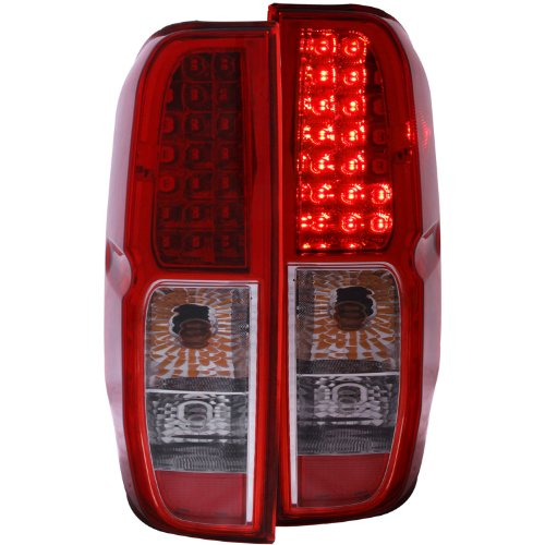 Anzo Usa 311071 Nissan Red/Clear Led Tail Light Assembly - (Sold In Pairs)
