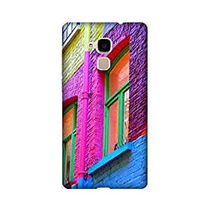 Printrose Huawei Honor 5C back cover High Quality Designer Case and Covers for Huawei Honor 5C Colourful wall