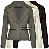 Miss Posh Casuals Womens Fitted Blazer Style Jacket