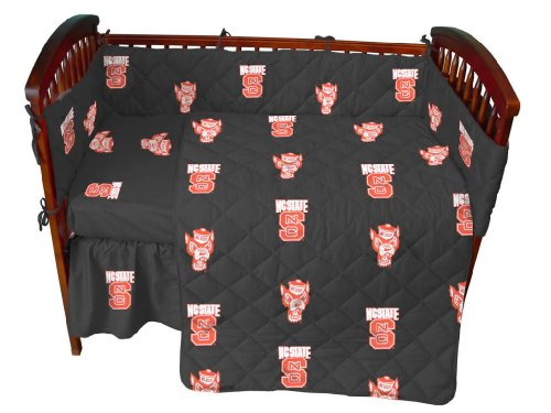 Ncaa North Carolina State 5 Piece Crib Bedding Set front-898119