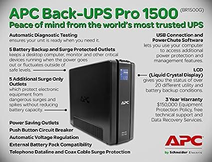 BR1500G-IN 1500 VA UPS