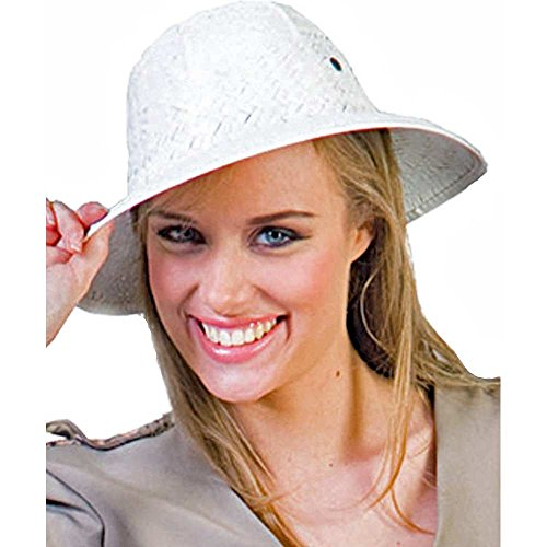 White Safari Pith Hat