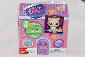buy littlest pet shop kitty puzzle and playhouse online at