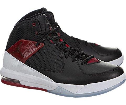 Nike Jordan Men's Jordan Air Incline Black/Gym Red/White Basketball Shoe 10.5 Men US