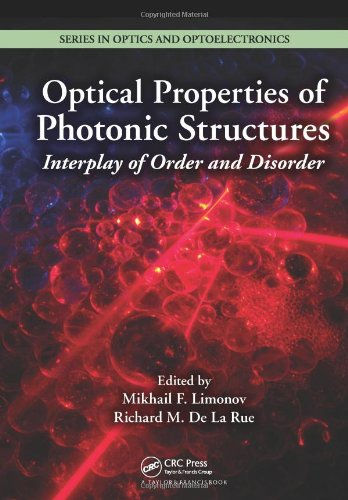 Optical Properties Of Photonic Structures: Interplay Of Order And Disorder (Series In Optics And Optoelectronics)