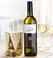 White Wine & Swiss Chocolate Truffles Hamper