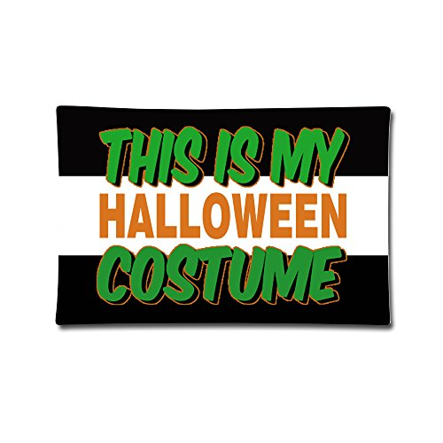 XHAXL This Is My Halloween Costume Custom Pillow Blank 20x30inch ()